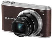 SAMSUNG WB350F Brown 16.3 Megapixel 21X Optical Zoom Smart Digital Camera