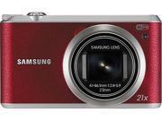 SAMSUNG WB350F Red 16.3 Megapixel 21X Optical Zoom Smart Digital Camera