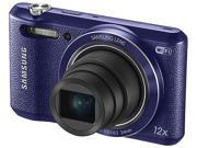 SAMSUNG WB35F Purple 16.2 Megapixel Smart Digital Camera