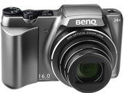 BenQ LH500 Gray 16MP 25mm Wide Angle Digital Camera