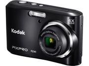 Kodak FZ41-BK Black 16.15 MP 4X Optical Zoom 27mm Wide Angle Friendly Zoom Digital Camera