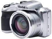 Kodak AZ361-SL Silver 16.15 Megapixels 36X Optical Zoom Wide Angle Astro Zoom Digital Camera