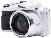Kodak AZ361-WH White 16.15 Megapixels 36X Optical Zoom Wide Angle Astro Zoom Digital Camera