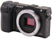 "SONY Alpha NEX-7/B Black 24.3 MP 3.0"" 921K LCD Compact Mirrorless System Camera - Body Only"