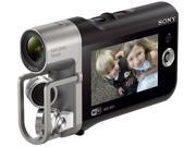 SONY HDR MV1 Black Full HD HDD Flash Memory Camcorder