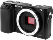 SONY Alpha a6000 ILCE 6000 B Black Mirrorless Camera Body Only