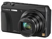 Panasonic Lumix ZS35 Black 16 MP 20X Optical Zoom Digital Camera