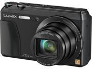 Panasonic DMC-ZS35WCP Black 16 MP 20X Optical Zoom ZS35 Kit