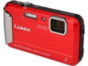 Panasonic DMC TS30R Red Tough Camera