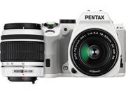 PENTAX K-S2 12614 White 20.12 MP Digital SLR Camera With 18-50mm & 50-200mm Lenses