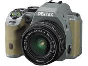 PENTAX K-S2 13960 Forest Green 20.12 MP Digital SLR Camera With 18-50mm Lens