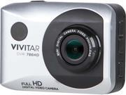 Vivitar DVR786HD SIL WM 12.1MP Full HF Action Cam Silver