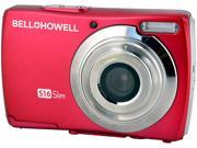 Bell & Howell S16 Slim Red 16MP Digital Camera