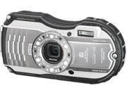 "Ricoh WG-4 8572 Silver 16 MP 3.0"" 460k Tough Camera"