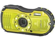 "Ricoh WG-4 8587 Lime Yellow 16 MP 3.0"" 460k Tough Camera"