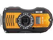 "Ricoh WG-5 GPS 04664 Orange 16 MP 3.0"" 460K Tough Camera"