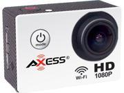 AXESS CS3602 WT White 1.5 Full HD 1080P Action Sports Camera
