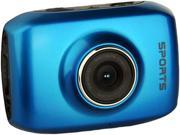 """Computer King Technology DVS1 Blue 1.3 MP 2.0"""" LCD 4x Digital HD Action Camera with Touchscreen"""