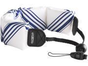 OLYMPUS 202590 Floating Wrist Strap (White/ Blue)