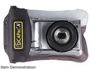 DiCAPac WP-ONE Black Waterproof Case For Compact Digital Camera
