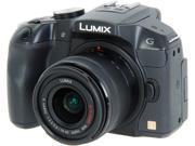 "Panasonic LUMIX DMC-G6KK Black 16.05 MP 3.0"" 1036K LCD Digital Single Lens Mirrorless camera with 14-42 II Kit Lens"