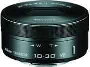 Nikon 3367 1 NIKKOR VR 10 30mm f 3.5 5.6 PD ZOOM Lens Black