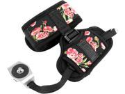 Professional DSLR Camera Hand Grip Strap with Metal Plate by USA GEAR Floral Works With Canon Nikon Panasonic and More Cameras