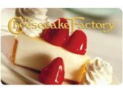 Cheesecake Factory $ 150 Gift Card (Email Delivery)
