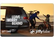 Jiffy Lube 50 Gift Card Email Delivery