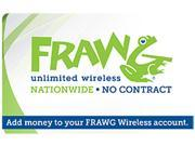 nTelos Frawg Wireless $55 Refill Card (Email Delivery)