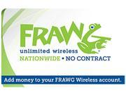 nTelos Frawg Wireless $100 Refill Card (Email Delivery)