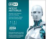 ESET NOD32 Antivirus 2014 - 1 PC (CD Sleeve)
