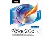 CyberLink Power2Go 10 Platinum - Download