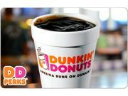 Dunkin Donuts $10 Gift Card (Email Delivery)