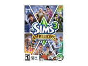 Sims 3 Ambitions Expansion Pack PC Game