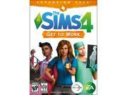 THE SIMS GET TO WORK  PC