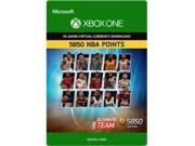 NBA Live 16 LUT 5850 NBA Points Pack XBOX One [Digital Code]
