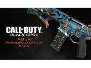 Call of Duty: Black Ops II Aqua Personalization Pack [Online Game Code]