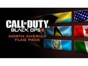 Call of Duty: Black Ops II North America Flags of the World Calling Card Pack [Online Game Code]
