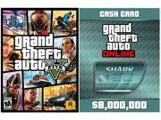 GTA V & Megalodon Shark Card Bundle [Online Game Code]