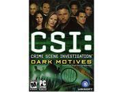 CSI: Dark Motives (Jewel Case) PC Game 9SIA0FU1E65037