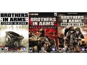 Brothers In Arms Triple Pack (Earned In Blood, Hell's Highway, Road To Hill 30) [Online Game Codes] N82E16832138468