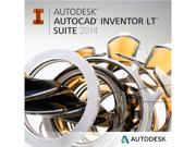 Autodesk AutoCAD Inventor LT Suite 2014 for PC - Includes 1 year Autodesk Subscription