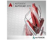 Autodesk AutoCAD 2015 - Annual Subscription License with Advanced Support