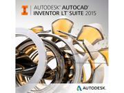 Autodesk AutoCAD Inventor LT Suite 2015 - Annual Subscription License with Advanced Support