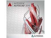 Autodesk AutoCAD 2016 Quarterly Desktop Subscription with Basic Support