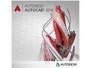 Autodesk AutoCAD 2016 Annual Desktop Subscription with Advanced Support