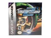 Need For Speed Underground 2 GameBoy Advance Game EA