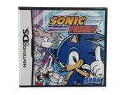 Sonic Rush Nintendo Ds Game Sega Picture