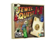 Jewel Quest 1 & 2 Jewel Case PC Game